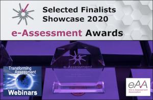 2020 e-Assessment Awards - Selected finalists showcase webinar