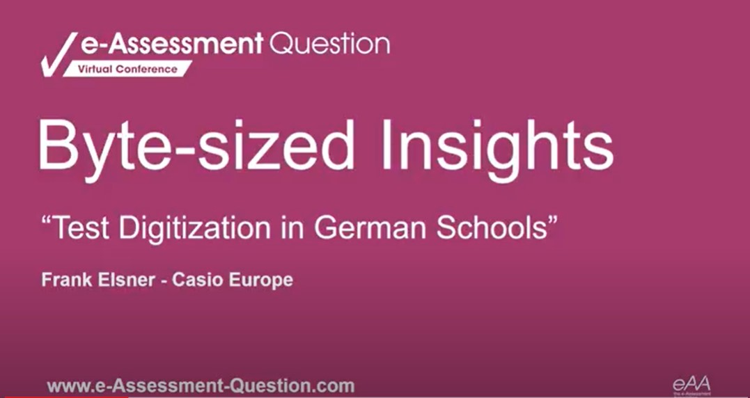 e-Assessment Question Byte-sized Insights